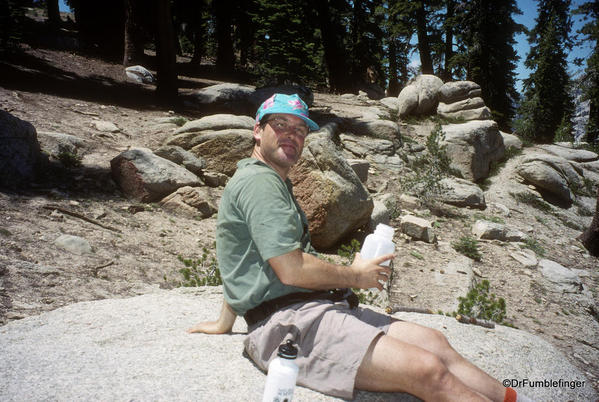 Sequoia National Park. Backpacking with dear friend, Dr. Gary Schwartz