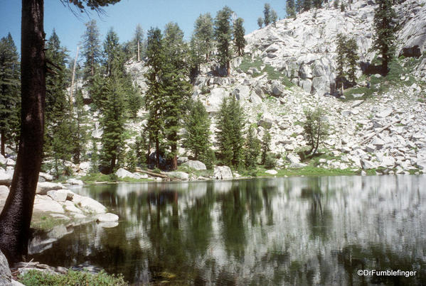 Sequoia National Park. Heather Lake
