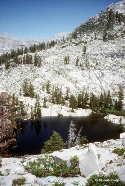 Sequoia National Park. Emerald Lake Basin