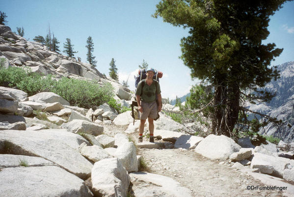 Sequoia National Park. Trail to Pear Lake. Dr. Gary Schwartz