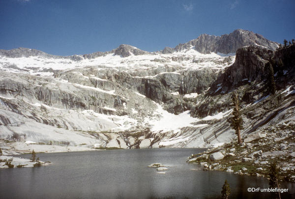 Sequoia National Park. Pear Lake
