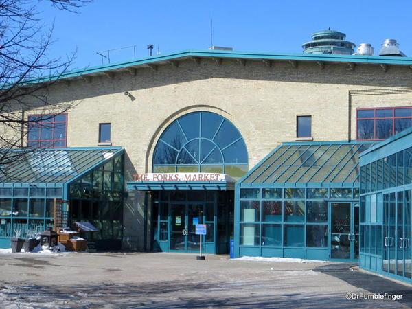 Entrance to The Forks Market, Winnipeg