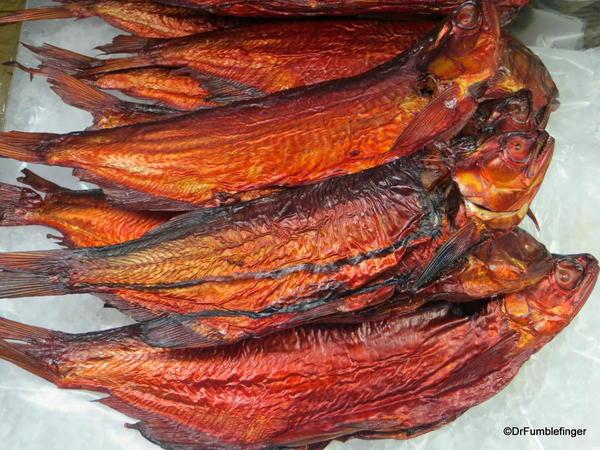 """Smoked Lake Winnipeg """"Goldey"""", the Forks Market, Winnipeg"""