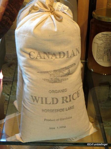 Wild Rice harvested in Manitoba, the Forks Market, Winnipeg