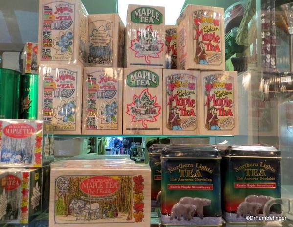 Canadian Tea blends, the Forks Market, Winnipeg