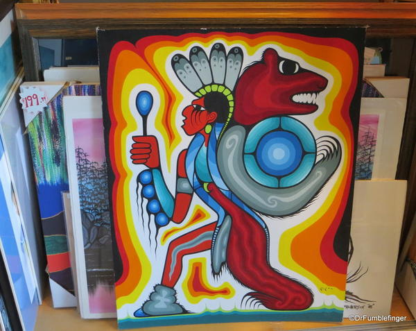 First Nations art, the Forks Market, Winnipeg