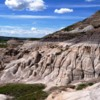 Alberta's Badlands landscapes near Drumheller