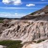 Alberta's Badlands landscapes near Drumheller