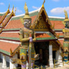 Temple of the Jade Buddha-5: Gigantic demons guard the temple buildings