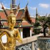 Temple of the Jade Buddha-6: Exquisite mythical Kinnara, half woman and half animal