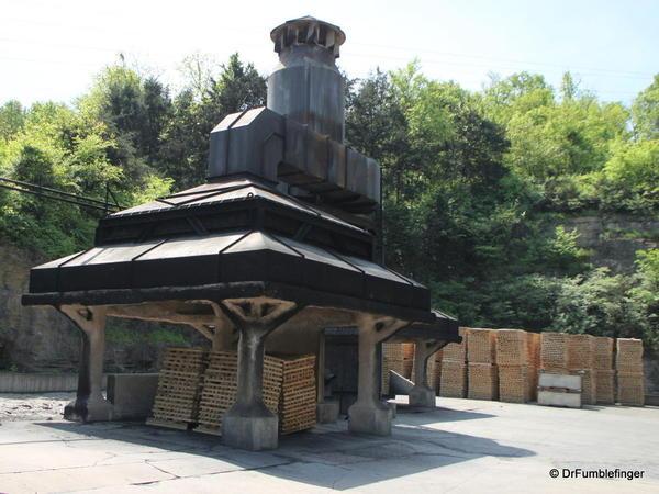 Lynchburg -- Jack Daniel's Distillery Rickyard