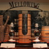Lynchburg -- Jack Daniel's Distillery Museum: This exhibit explains the process of mellowing the whiskey. The charcoal, derived from sugar maple, is a key component in the developing the whiskey's taste.