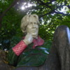 Close-up of the Oscar Wilde Statue: Merrion Square, Dublin, Ireland