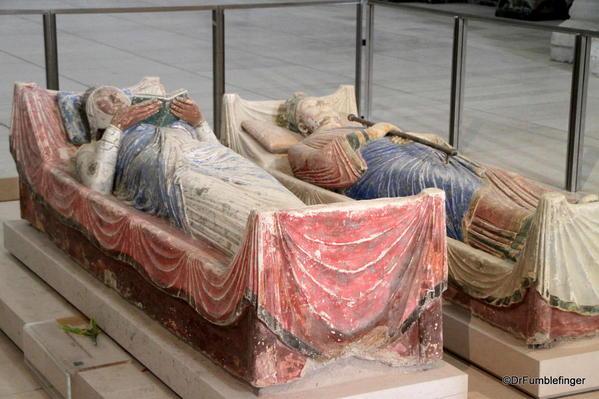 Henry II and Eleanor of Aquatain tombs, Fountevraud Abbey