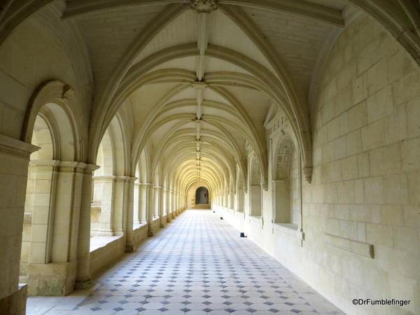 Hallway, Cloister, Fontevraud Abbey