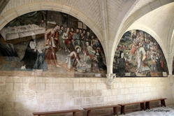 Detail, Chapter House, Fontevraud Abbey