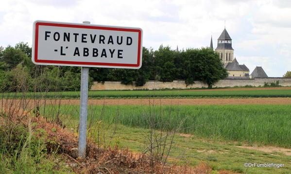 Entrance to village, Fontevraud Abbey