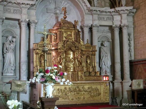 Altar, Eglise Saint Michel, Fontevraud Abbey