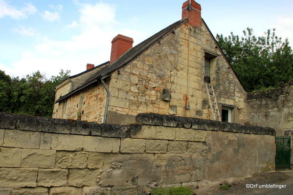 Old farmhouse, Fontevraud Abbey