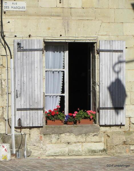 Window, Fontevraud Abbey
