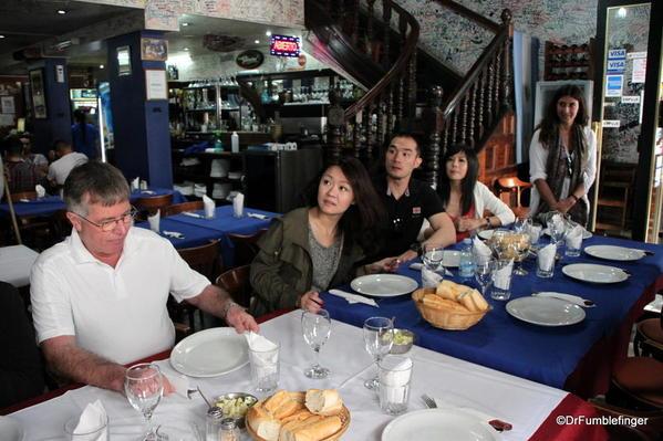 Our tour group Don Ernesto Restaurant, San Telmo