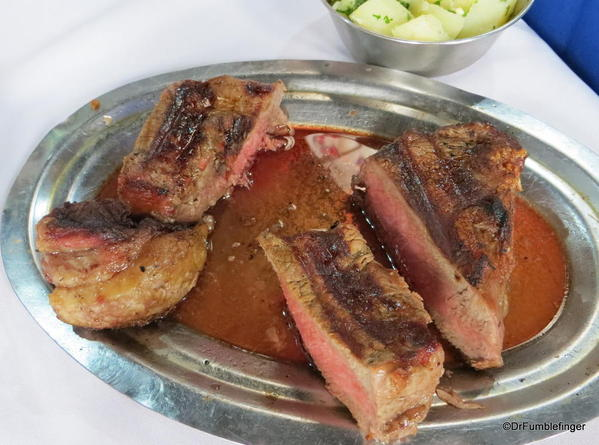 Steak at Don Ernesto Restaurant, San Telmo