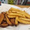 Fresh potato and sweet potato fries,  Perez-H