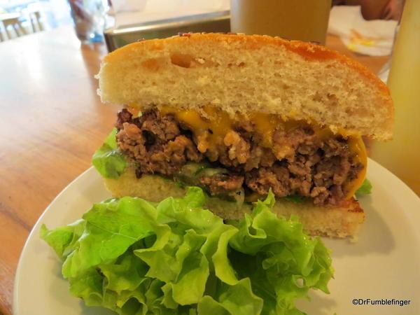 Wonderful fresh hamburger, Perez-H