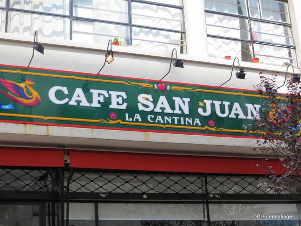 Fuddis Tours, San Telmo, Cafe San Juan