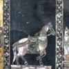 Detail of Wat Pho's inlaid feet: Close up of one of the mother-of-pearl inlays.