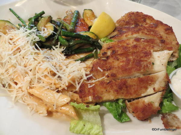 Calamari Steak, Monterey's Fish House, Monterey, California