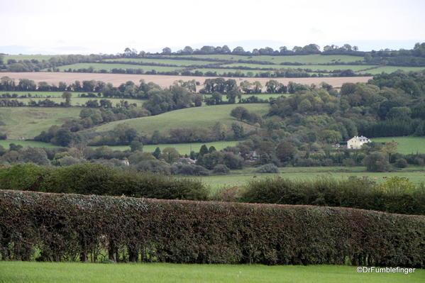 Valley of the Boyne, as viewed from Newgrange