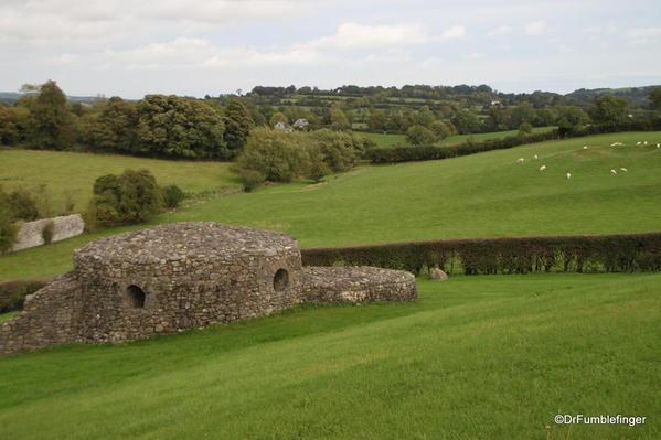 Stone circle near the Newgrange tomb