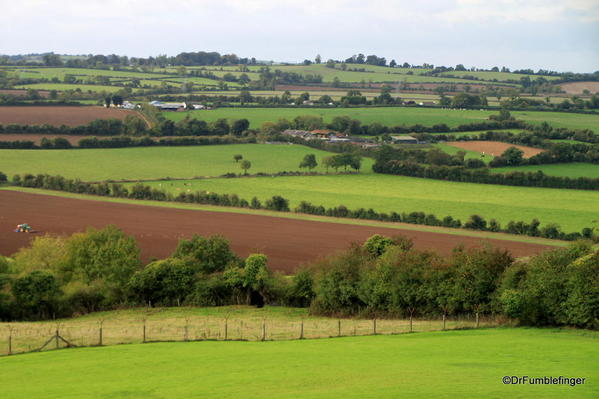 Views of the Boyne River Valley from Knowth