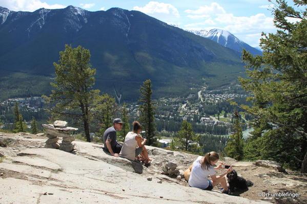 Tunnel Mountain trail, Banff National Park Summit