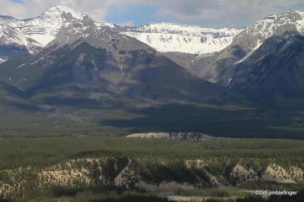 Bow River Valley, viewed from Tunnel Mountain, Banff National Park