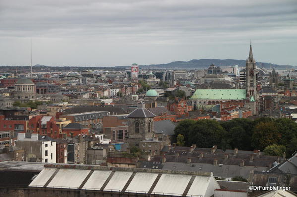 Guinness Storehouse. Views of Dublin from the Gravity Bar