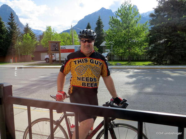 """The Beer Guy"", Canmore, Alberta"