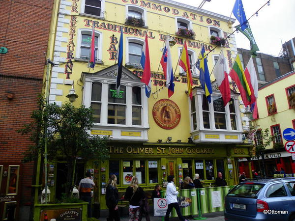 One of the many fine pubs in Temple Bar