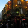 Nightlife begins in Temple Bar: Dublin, Ireland