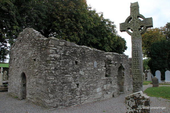 Ruins and Celtic Cross at Monasterboice