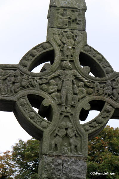 Detail, Celtic Cross at Monasterboice