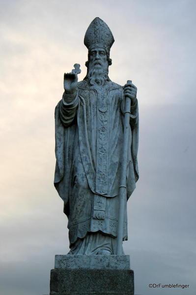 Statue of St. Patrick, Hill of Tara