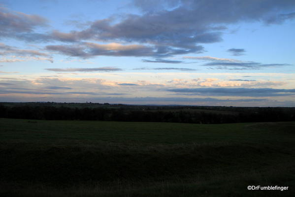 Views of Sunset, from the Hill of Tara