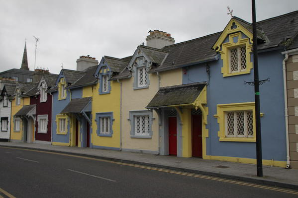 The town of Trim, Ireland