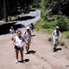 Hiking in Mariposa Grove,Yosemite National Park