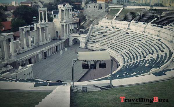 Ancient Theater in Plovdiv, Bulgaria