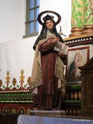Mission San Juan Capistrano. Serra's Church
