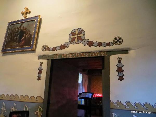 St. Peregrine's Chapel, Serra's Church, Mission San Juan Capistrano