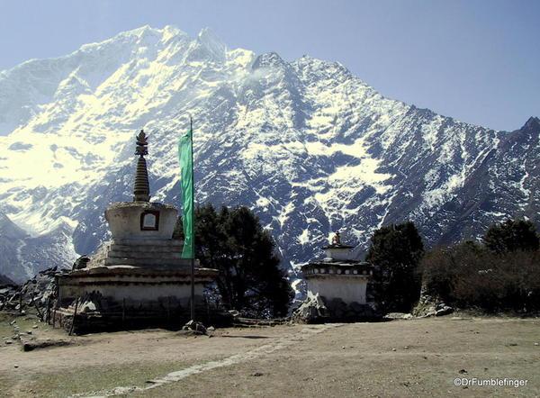 Grounds of the Tengboche Monastery, Nepal